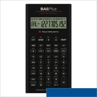 Texas Instruments BAII Plus Professional